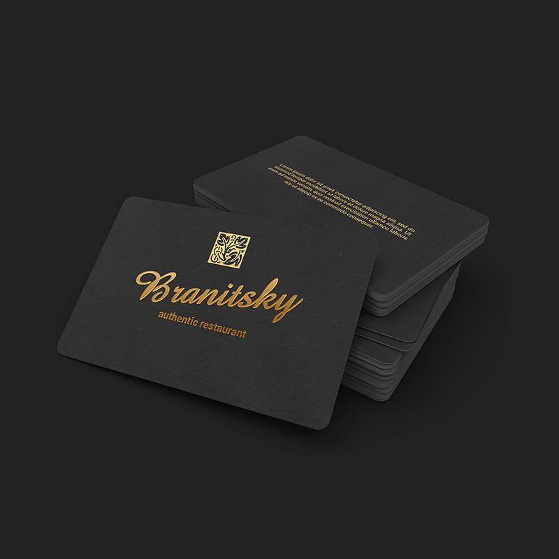 tarjetas de visita con acabados especiales y diferentes