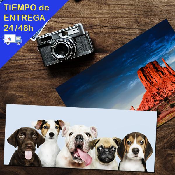 Impresión de fotos en formato panorámico