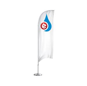 bandera publicitaria interior exterior