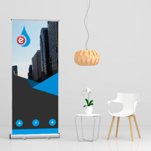 displays roll up banner impresion