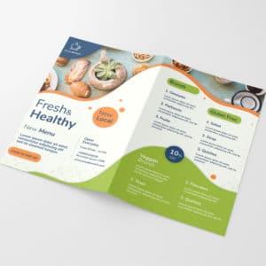 folletos plegados dipticos publicidad