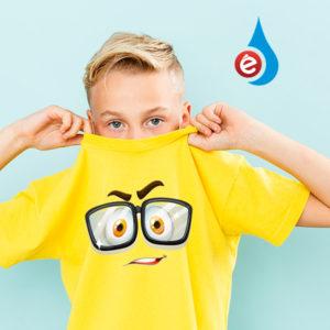 impresion camiseta niño algodon premium desde 1 unidad